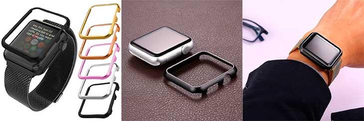 Funda de aluminio tipo bumper para Apple Watch - Bandmax