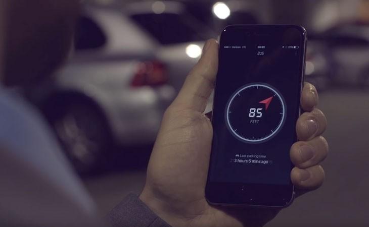 Cargador de coche inteligente con localizador del vehículo