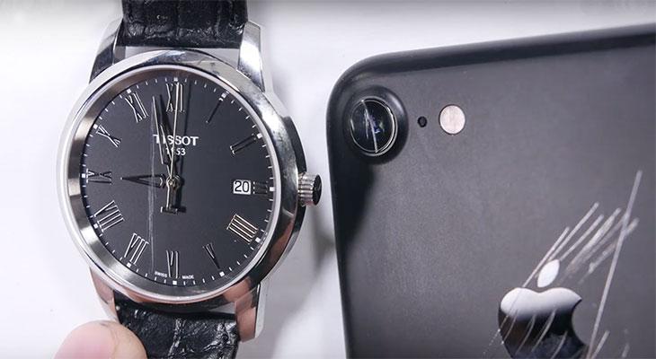 La cámara del iPhone 7 sólo tiene una fina capa de cristal de zafiro