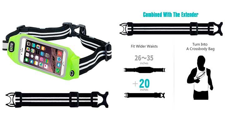 Riñonera-Bandolera deportiva para iPhone - EOTW