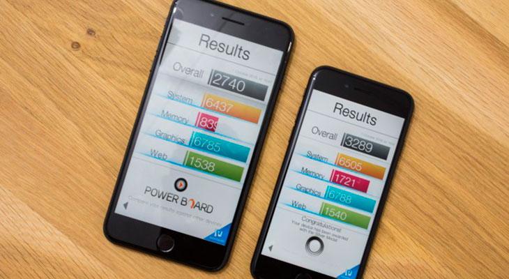 El iPhone 7 Plus de 32GB podría tener una memoria más lenta que las otras versiones