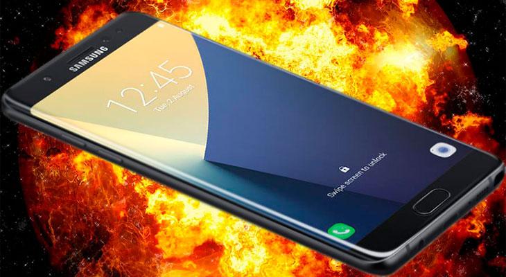 Samsung trató de sobornar a un usuario para que retirara un vídeo de su Galaxy Note 7 ardiendo