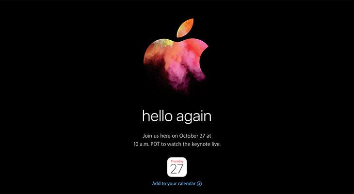 Cómo ver la keynote de los nuevos MacBooks en directo [Horarios internacionales]