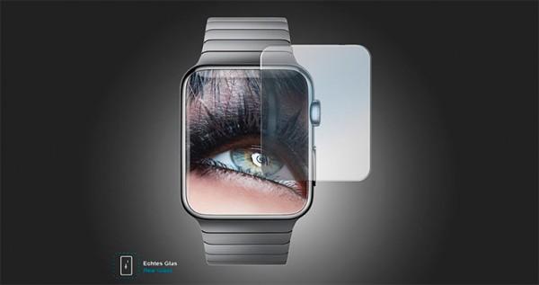 Protector de pantalla de cristal templado para Apple Watch - MTB