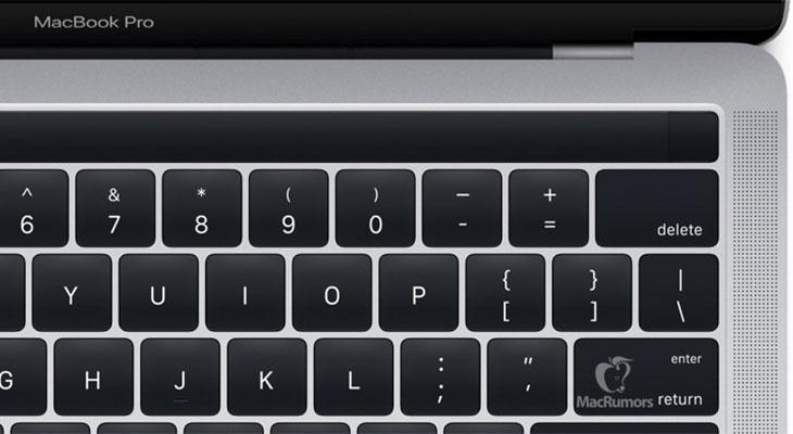 Apple filtra imágenes del nuevo MacBook Pro con Magic ToolBar