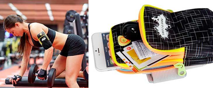 Brazalete deportivo tipo estuche para iPhone - Mosslian