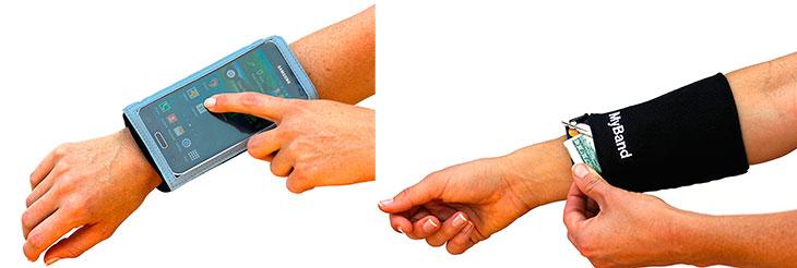Muñequera deportiva para iPhone - MyBand