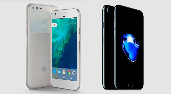 El iPhone 7 machaca al Google Pixel en los primeros tests benchmark