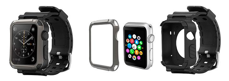 Carcasa resistente para Apple Watch con correa incorporada - Simpeak