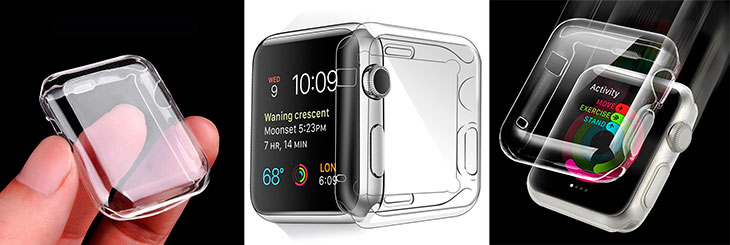 Funda de silicona para Apple Watch - Toeoe