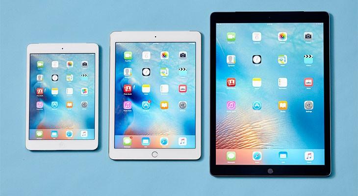Apple podría lanzar tres modelos de iPad Pro en 2017, incluyendo un iPad Pro mini
