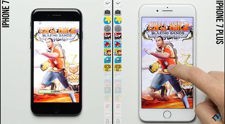 Test de velocidad iPhone 7 Vs iPhone 7 Plus: la diferencia entre tener 2 ó 3 GB de RAM [Vídeo]