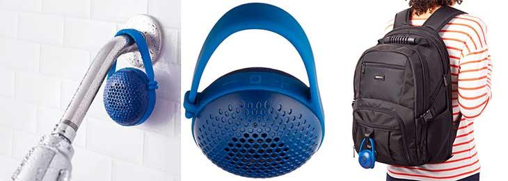 "Altavoz Bluetooth impermeable de tamaño ""mini"" - AmazonBasics nano"