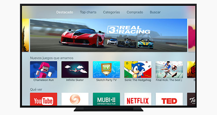 Por fin podemos comprar aplicaciones tvOS desde un iPhone, iPad o Mac