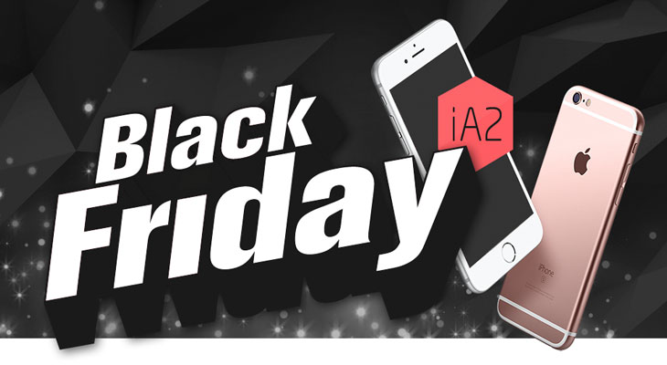 Primeros bombazos del Black Friday 2016: ¡iPhone 6 Plus (-27%), Apple Watch (-40%) y más!