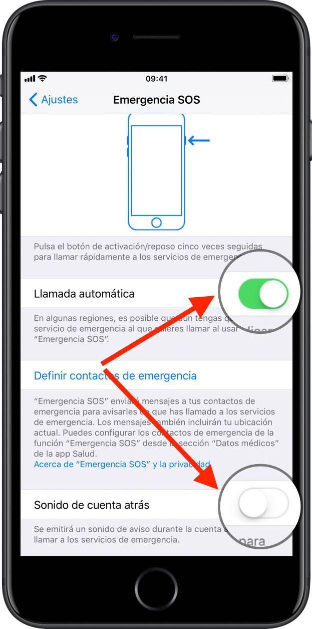Resultado de imagen para sos emergencia iphone