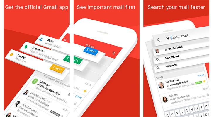 Gmail para iOS se actualiza, con nuevo diseño y muchas novedades