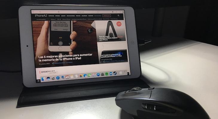 Cómo duplicar la pantalla de tu Mac con un iPhone o iPad un cable Lightning
