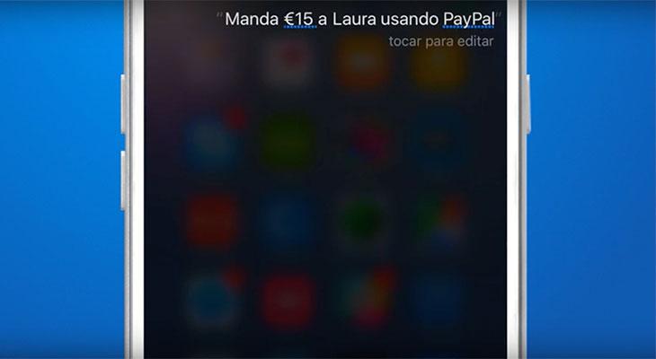 Ya podemos pedirle a Siri que envíe y solicite dinero con PayPal