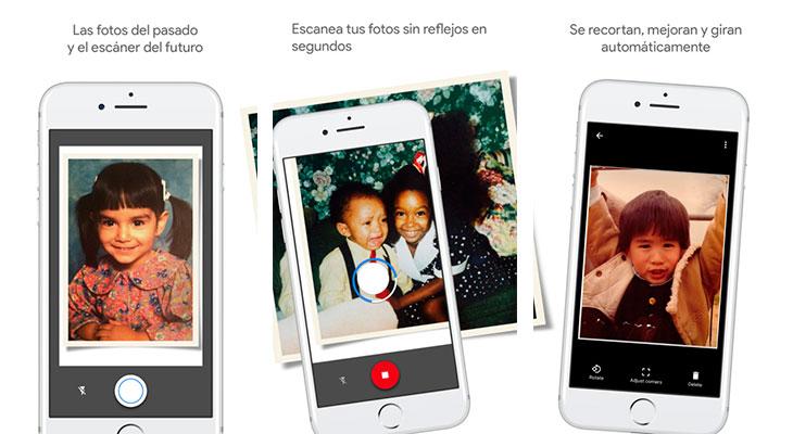 Google lanza PhotoScan, una aplicación para escanear fotos antiguas con nuestro iPhone