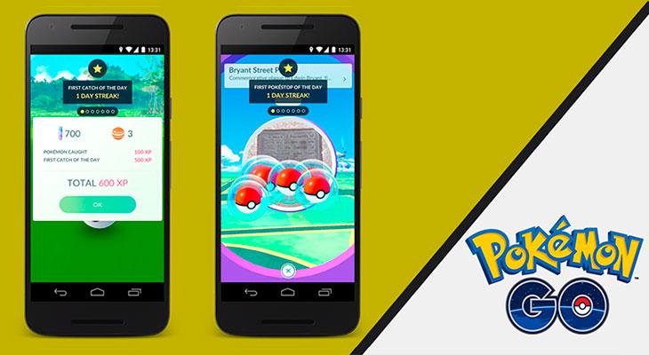 Pokemon Go ofrecerá bonus diarios y semanales