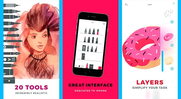 La Aplicación Gratis de la Semana es Tayasui Sketches Pro