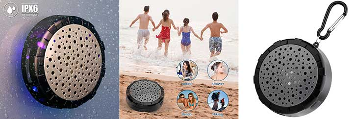 Altavoz impermeable y versátil para ducha y otros usos - SoundPEATS P4