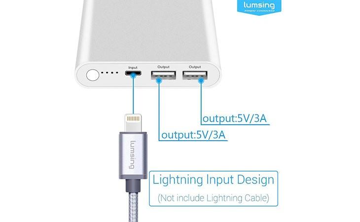 Batería externa especial para iPhone [12.000 mAh]
