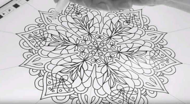 Cómo hacer dibujos geométricos espectaculares con un iPad Pro