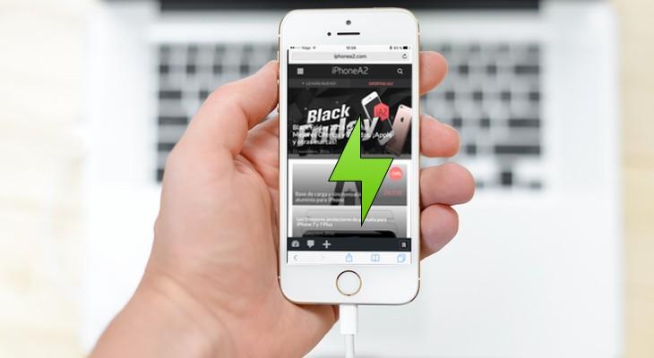 ¿Realmente se carga un iPhone más rápido con el cargador del iPad?