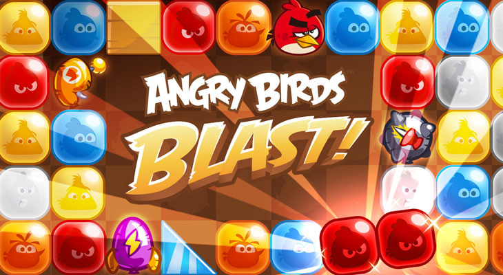 Angry Birds Blast: Rovio te regala un paquete de bienvenida valorado en 9,99 €