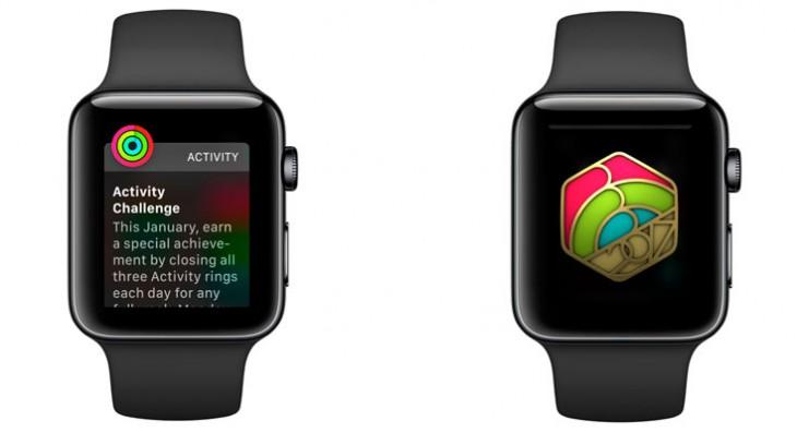 Tu Apple Watch te retará para que te pongas en forma tras las Navidades