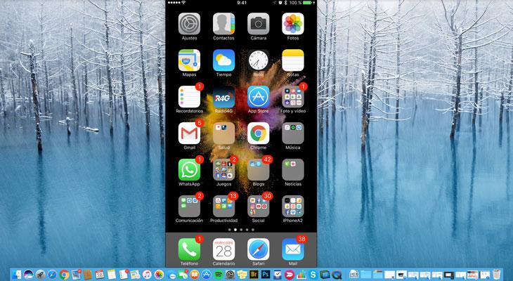 Cómo compartir la pantalla de tu dispositivo iOS con un Mac de otra persona