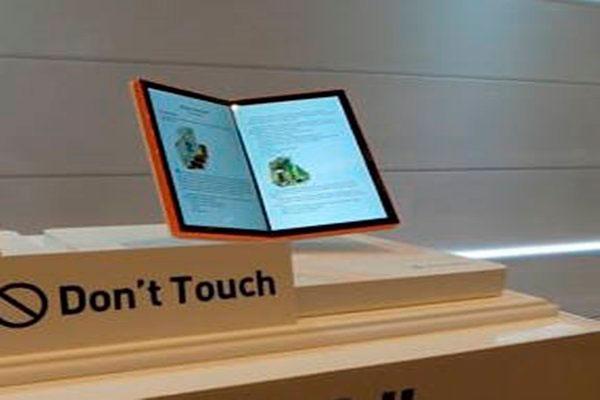 Prototipo de pantalla plegable de LG