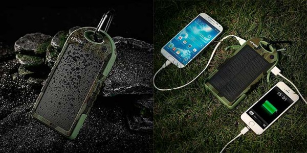Power Bank Solar de 12.000 mAh - Levin