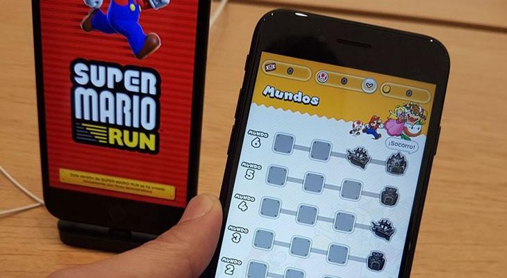 Solo podremos jugar a Súper Mario Run si estamos conectados a internet