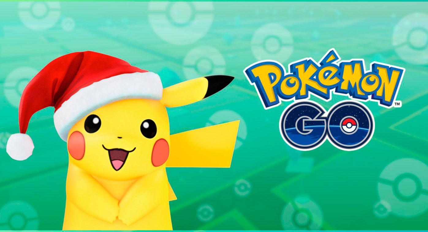 Llegan nuevos Pokémon a Pokémon GO… incluyendo un Pikachu navideño