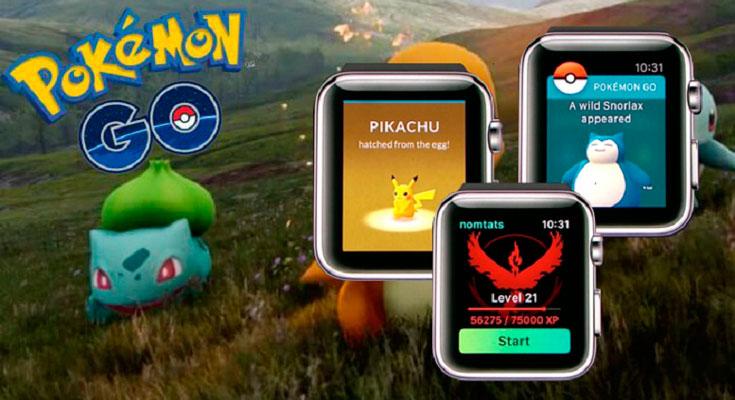 Pokémon GO llega por fin al Apple Watch