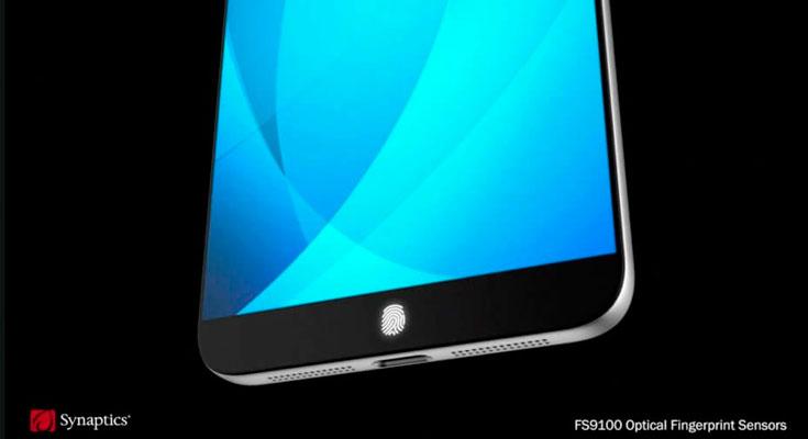 Así podría integrarse el Touch ID en la pantalla del iPhone 8