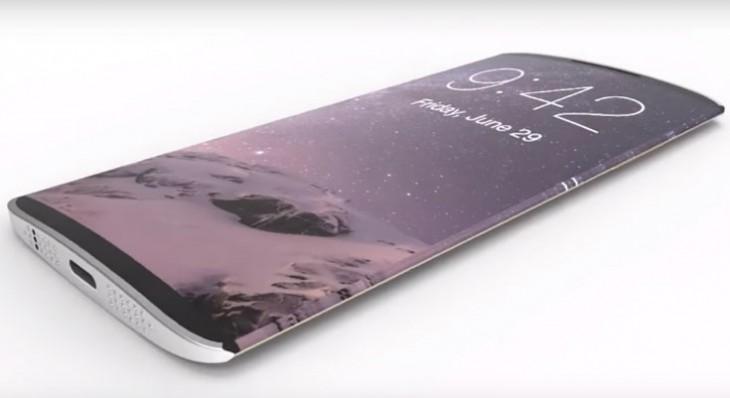 El iPhone 8 tendrá pantalla OLED curva y una nueva tecnología táctil