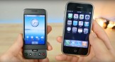 Comparando el iPhone original con el primer Android [Video]