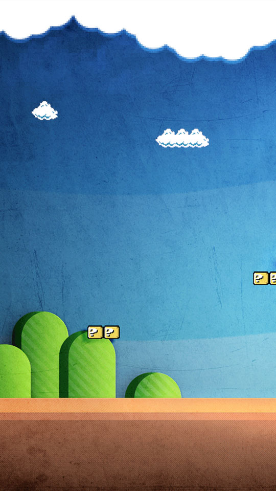 super-mario-world-3d-room-hd-mobile-wallpaper