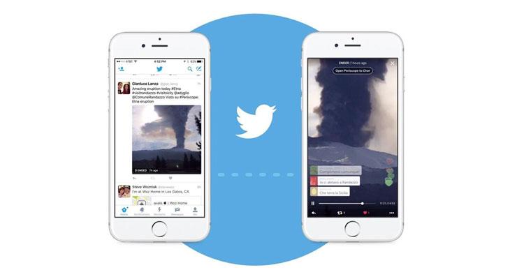 Twitter añade transmisión de vídeo en directo a la App de iOS