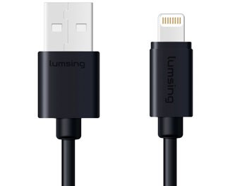 Cable MFI de plástico para iPhone y iPad