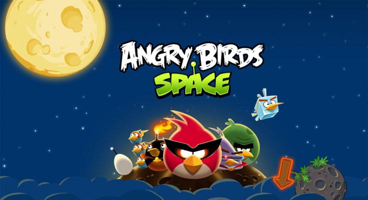 La Aplicación Gratis de la Semana es Angry Birds Space