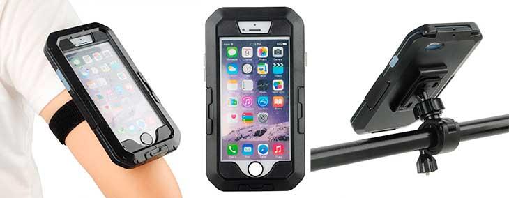 Soporte de iPhone 7 y 7 Plus para bicicleta con buena relación calidad-precio - Eximtrade