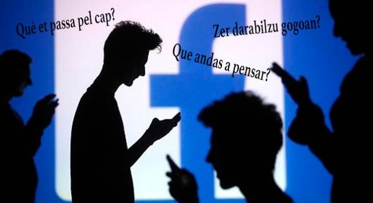 Cómo usar Facebook en catalán, euskera o gallego