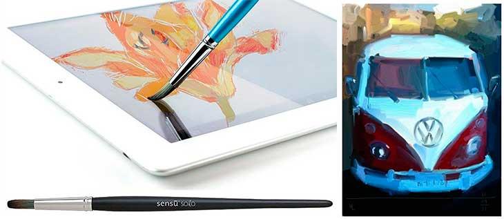Sensu Solo: el pincel perfecto para iPad