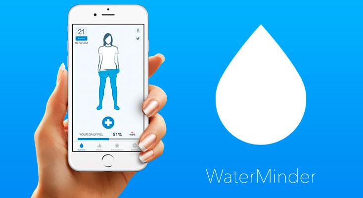 La Aplicación Gratis de la Semana es WaterMinder