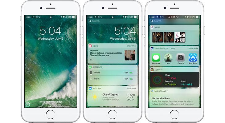 Ya está disponible la primera beta pública de iOS 10.3
